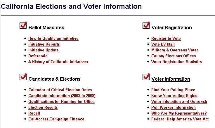 Voter Registration California Secretary Of State